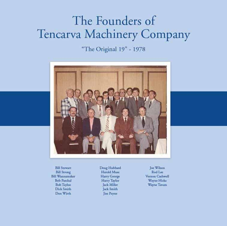 19 Original Founders of Tencarva