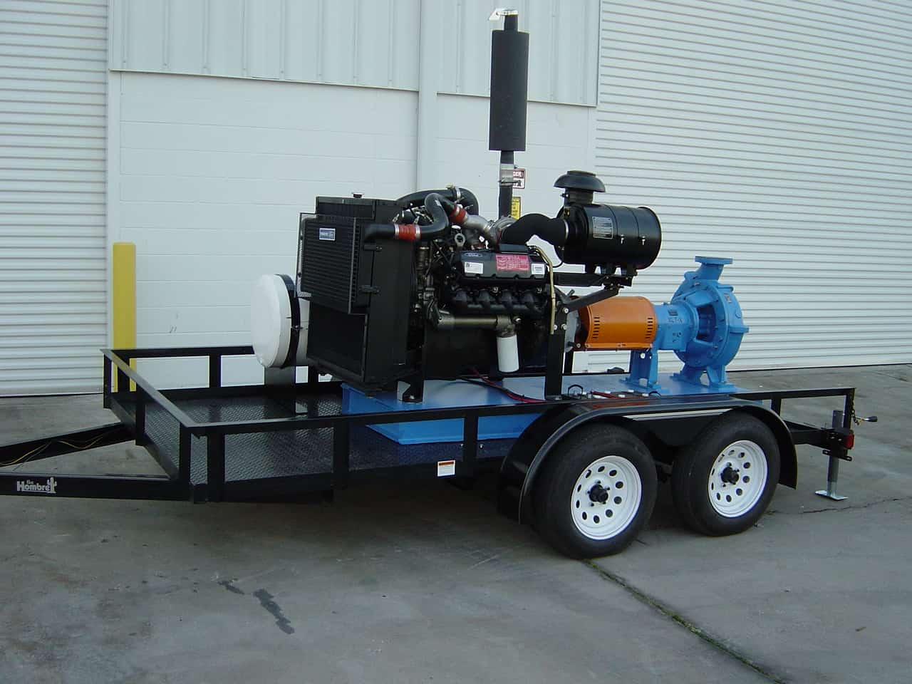 Engine-Driven-Pump-trailer