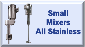 Small Mixers All Stainless