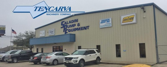 Tencarva Acquires Saladin Pump & Equipment