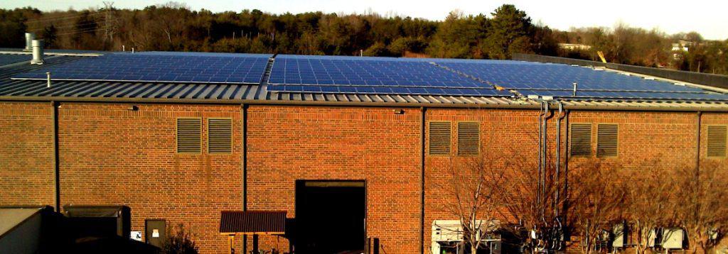 Solar Panel System at Tencarva Machinery Company
