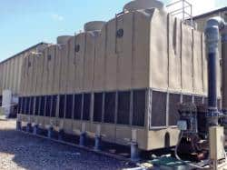 Modular plastic cooling towers facilitate increased manufacturing capacity