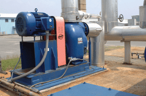 Gorman Rupp Pump with Uniguard Machine Guard