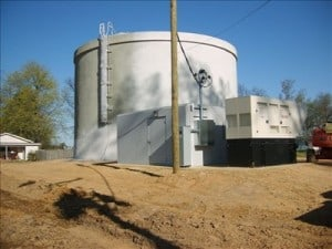 Marell, AR Storage Tank.