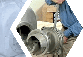 rotating assembly exchange