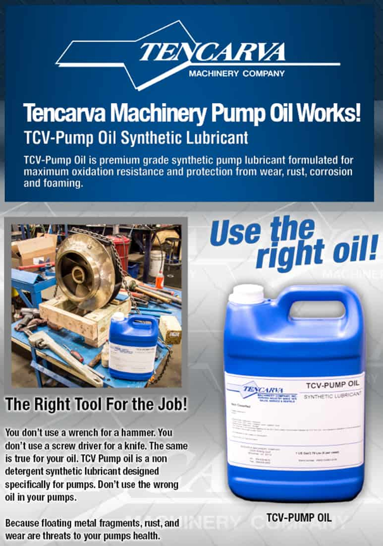 TCV-PUMP OIL