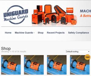 Uniguard Machine Guards Web Store